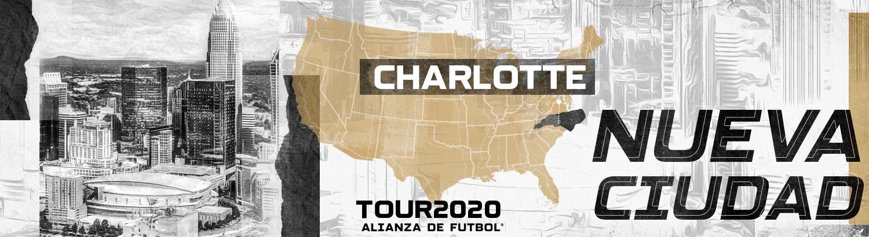 Alianza de Futbol llega a  Charlotte