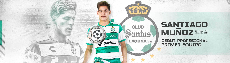 Santiago Muñoz makes his debut with Santos Laguna first team
