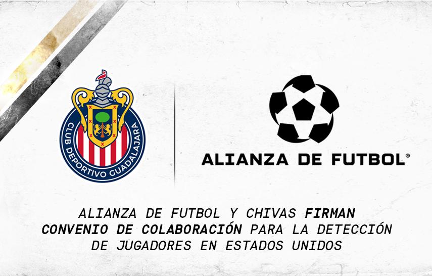 ALIANZA Y CHIVAS FIRMAN ACUERDO