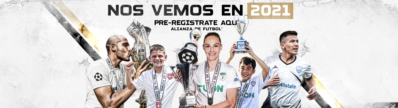 Alianza de Futbol Tryouts and tournaments have been postponed until 2021