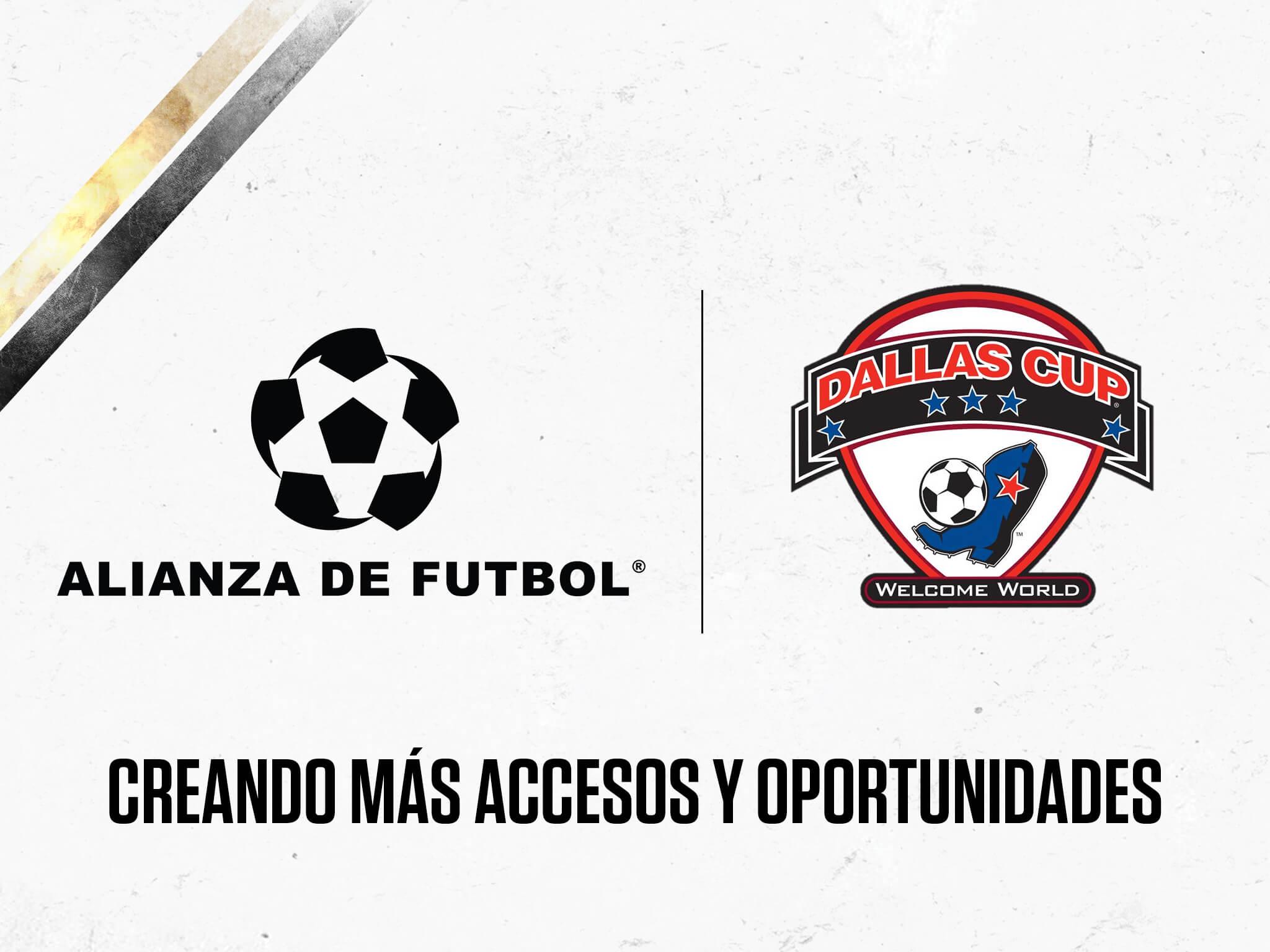 Alianza de Futbol y Dallas Cup firman acuerdo de colaboración