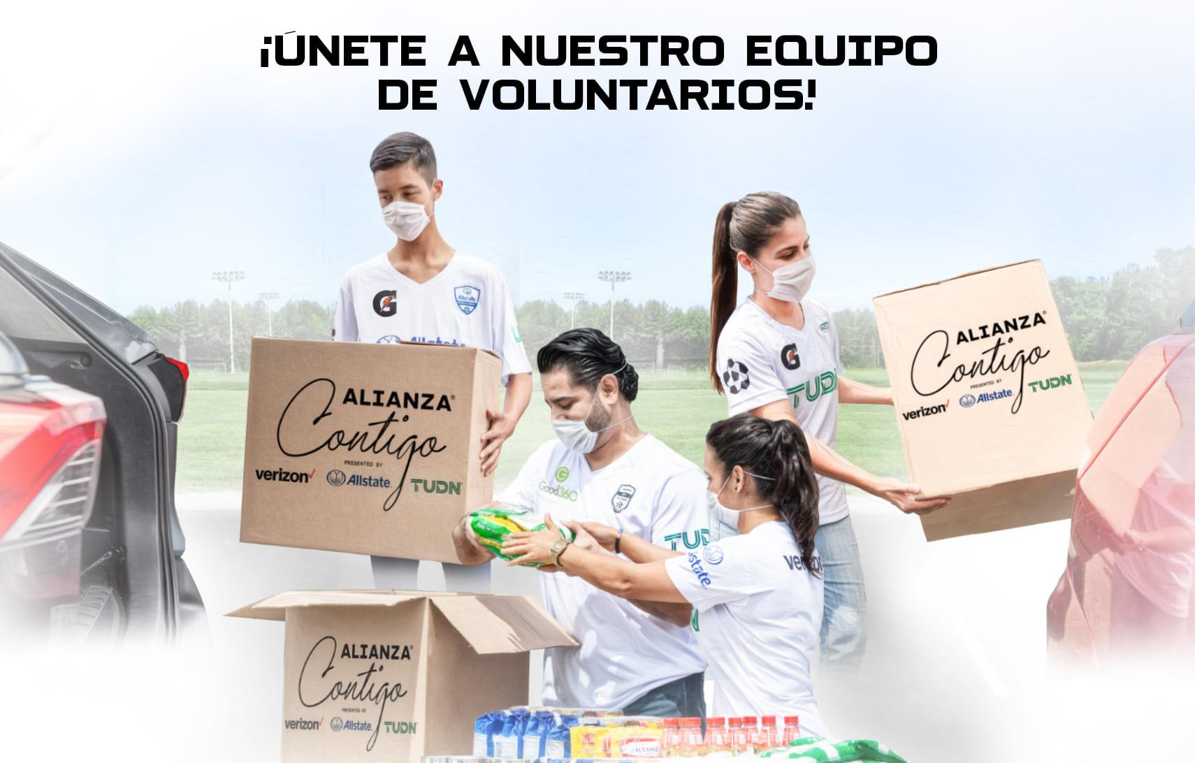 ¡Únete al equipo de voluntarios de Alianza de Futbol!