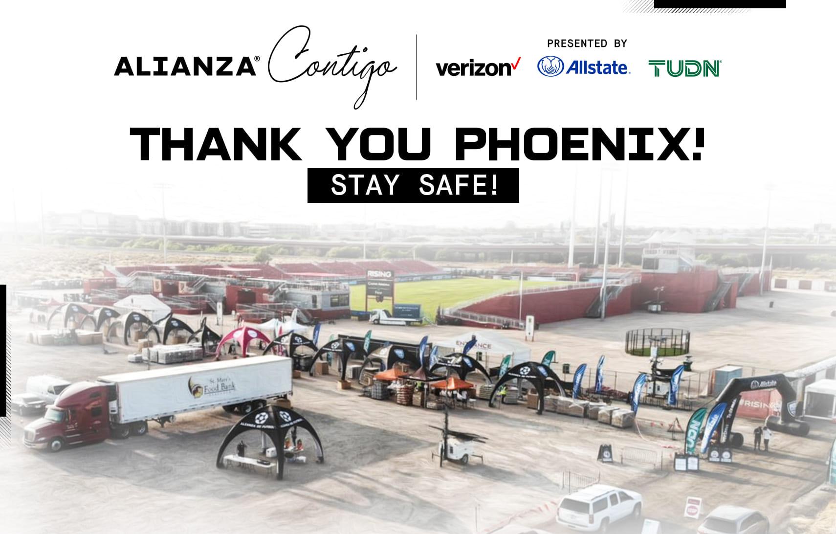 Alianza Contigo supported families in need in Phoenix